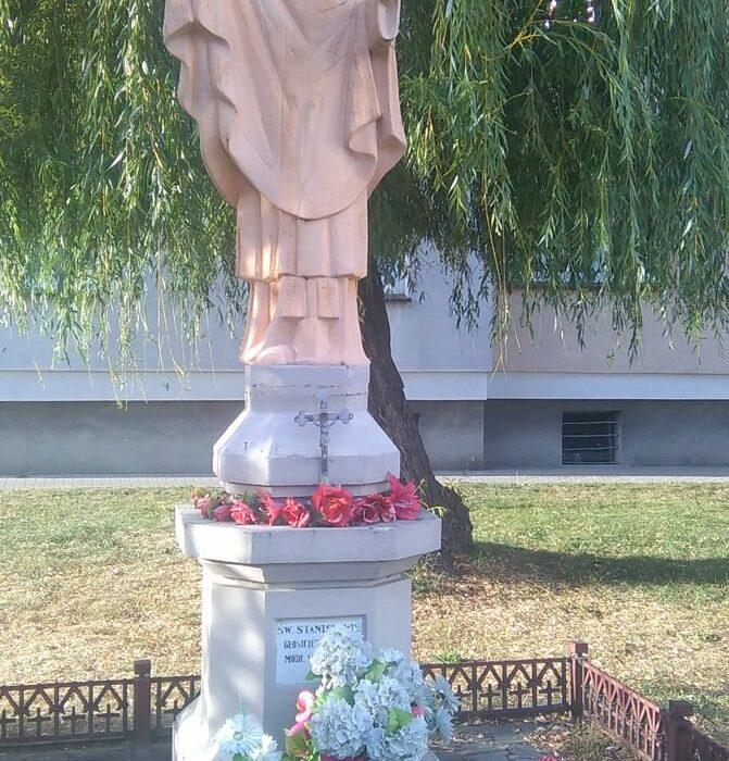 Figura św.Stanisława wKoźminie