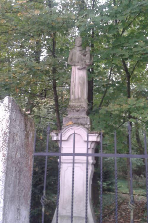 Figurka św.Antoniego wBrzeźnicy
