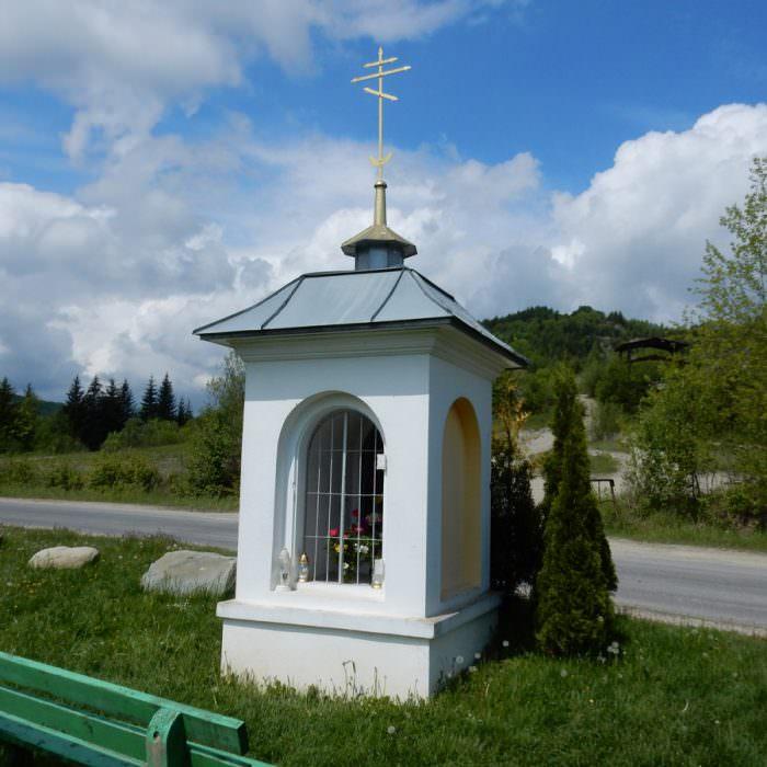 Kapliczka wBóbrce