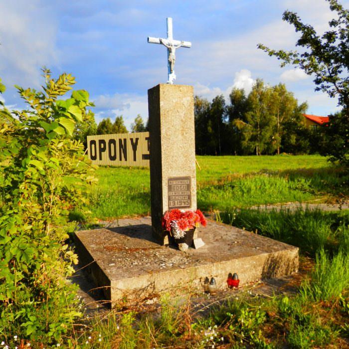 Krzyż przy ul.Konstantynowskiej