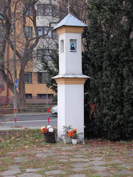 Kapliczka przy Szwedzkiej wKrakowie