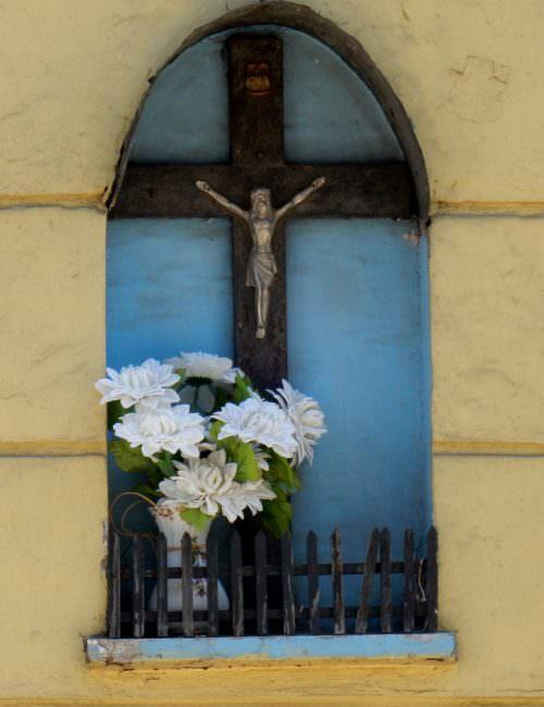 Krzyż przy Zgierskiej wŁodzi