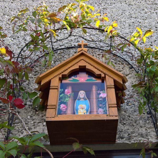 Domkowa kapliczka wOrzeszu