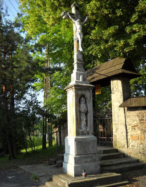 Kamienny krzyż wBełku