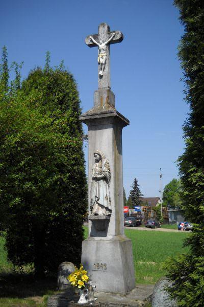 Kamienny krzyż wMikołowie