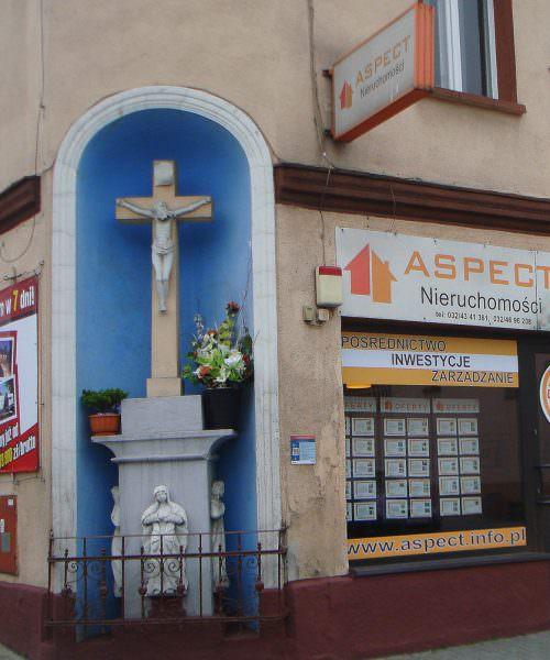 Kamienny krzyż wŻorach