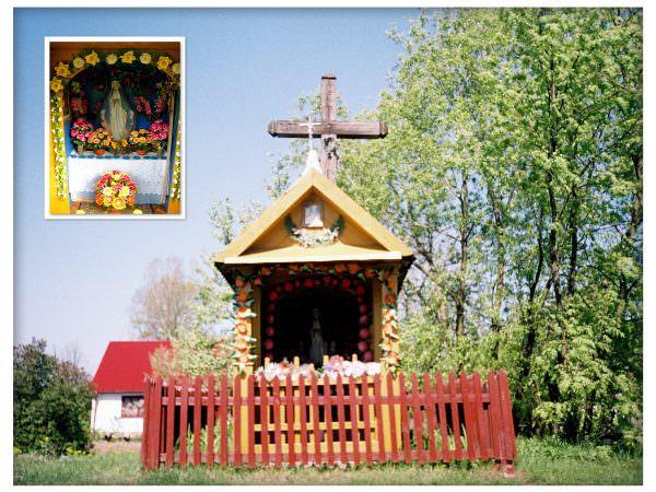 Kapliczka wGórecku Starym