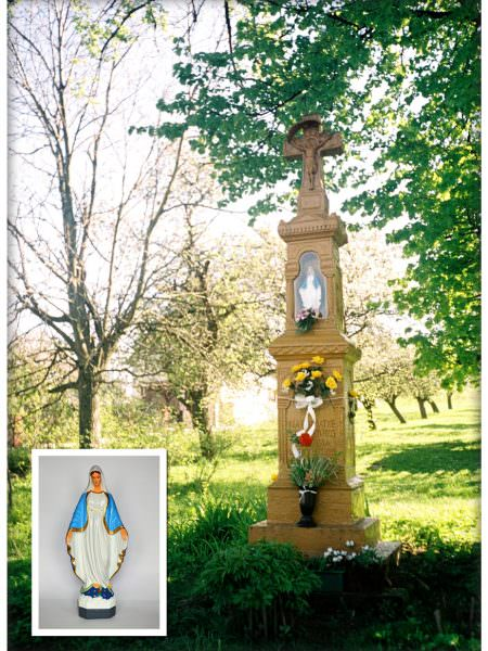 Kapliczka wWoli Kąteckiej