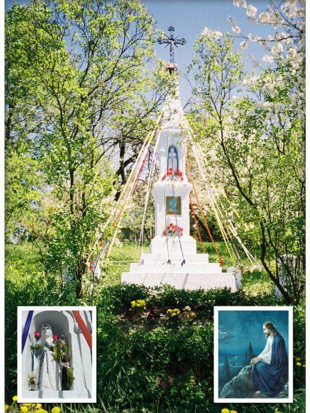 Kapliczka wewsi Michałów