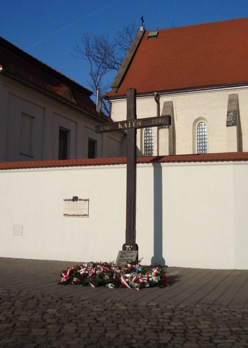 Krzyż Katyński wKrakowie