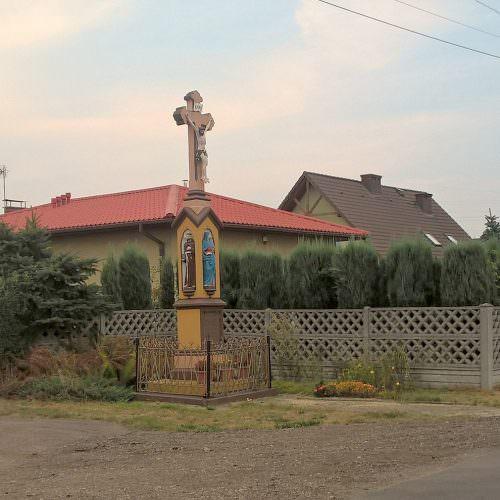 Kamienny krzyż wOrzeszu