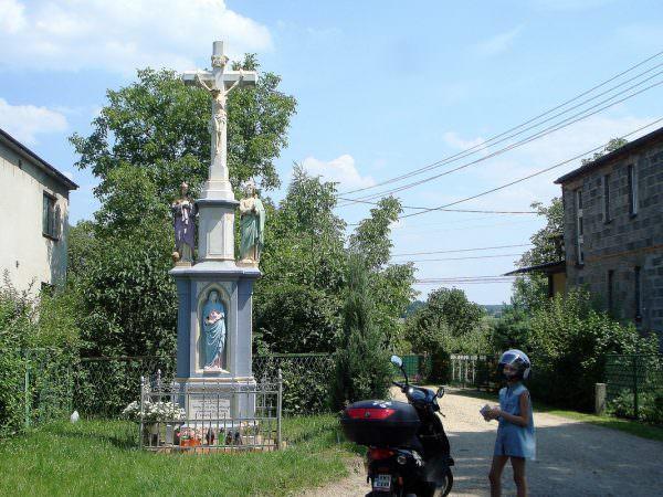 Krzyż przy ulicy Dolnej wSuszcu