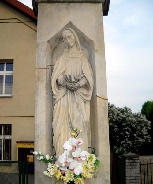 Krzyż wcentrum Orzesza
