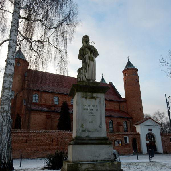 Figura św.Rocha wBrochowie
