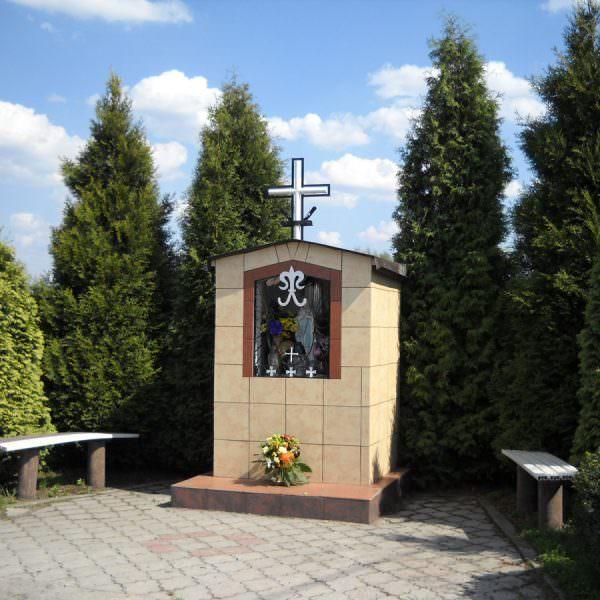 Kapliczka domkowa wCzuchowie