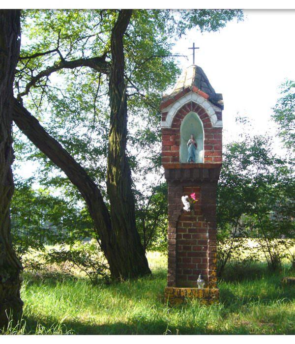 Kapliczka koło Dziubielewa