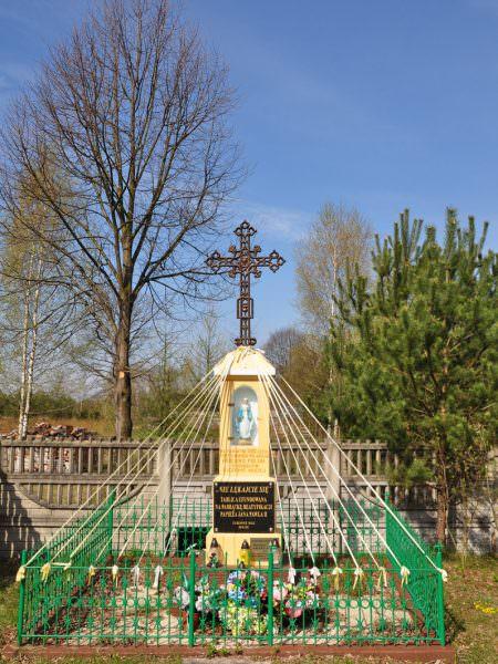 Kapliczka wCiebłowicach Małych