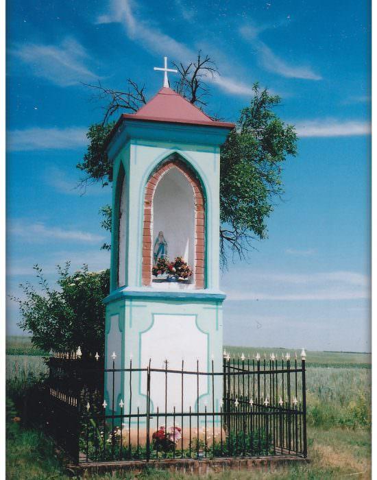 Kapliczka wewsi Glińsk