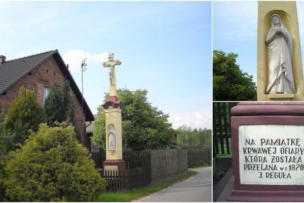 Kamienny krzyż wGostyni