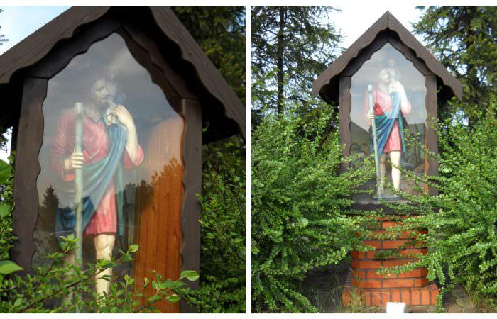 Kapliczka domkowa wPalowicach