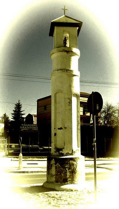 Kapliczka wMińsku Mazowieckim
