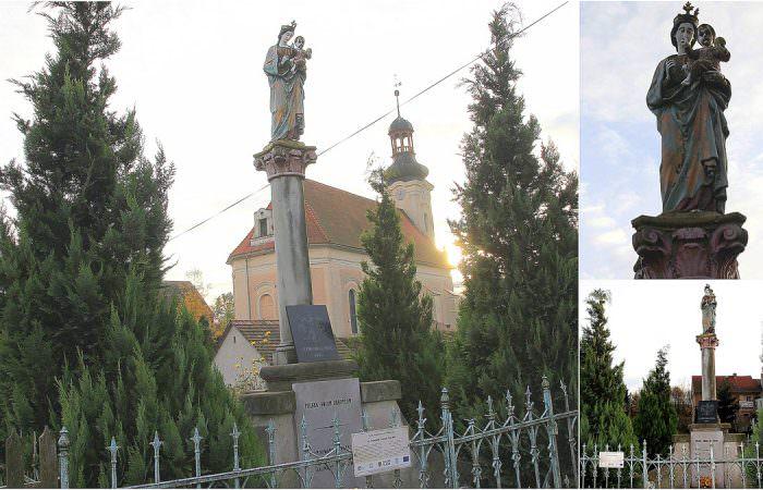 Kolumna Maryjna wDobkowie