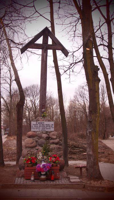 Krzyż wMińsku Mazowieckim
