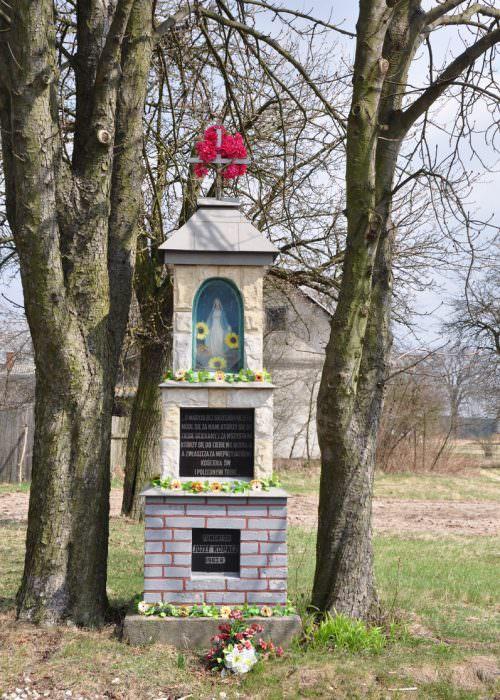 Kapliczka wBrzustowie Kolonii