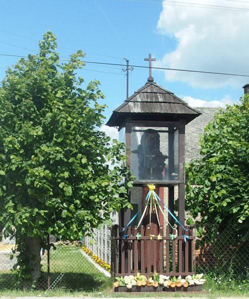 Kapliczka wNowej Pogorzeli