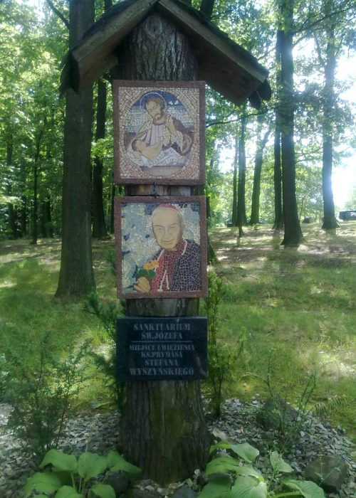 Kapliczka wPrudniku Lesie
