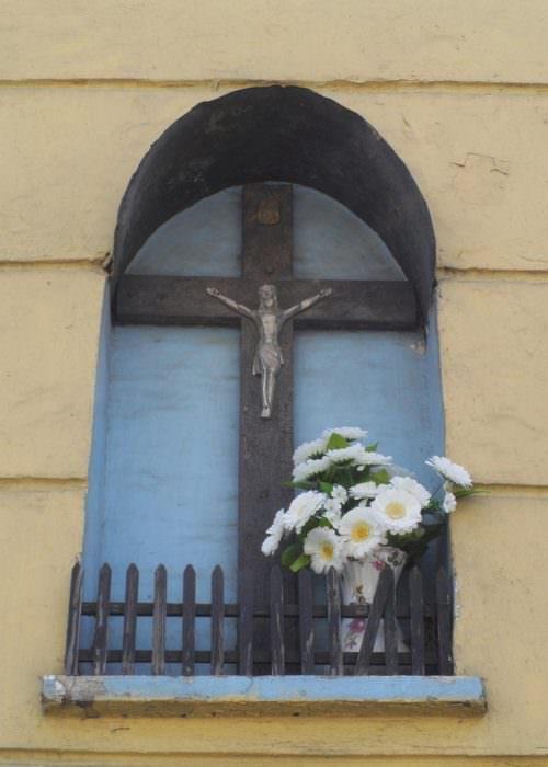 Krzyż nałódzkich Bałutach