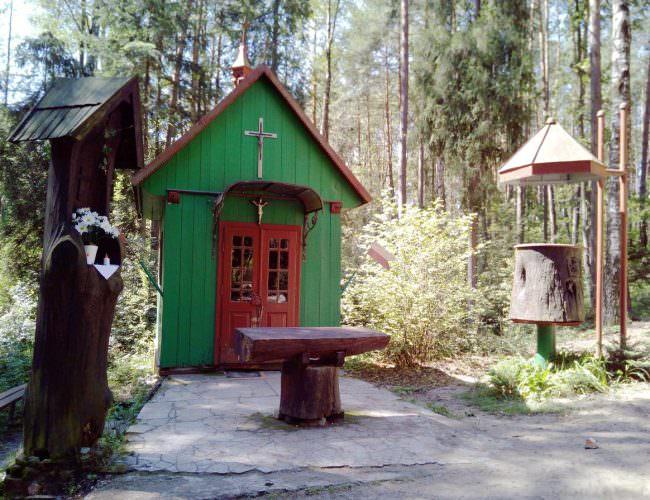 Kaplica wUroczysku Kruczek