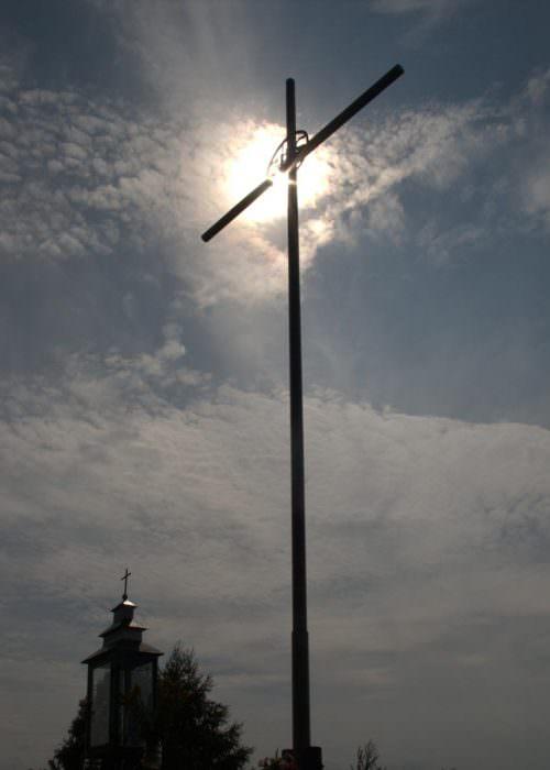 Krzyż naCyrenajce