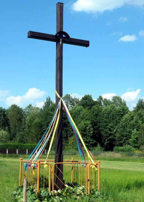 Krzyż pradziadka wCelinowie