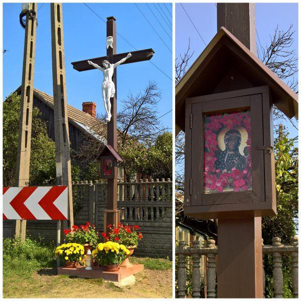 Krzyż wLeśniakach