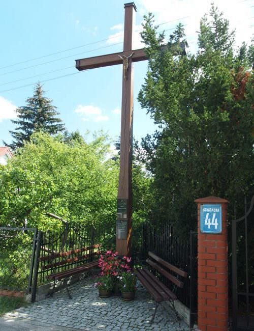 Krzyż prapradziadka wSiennicy