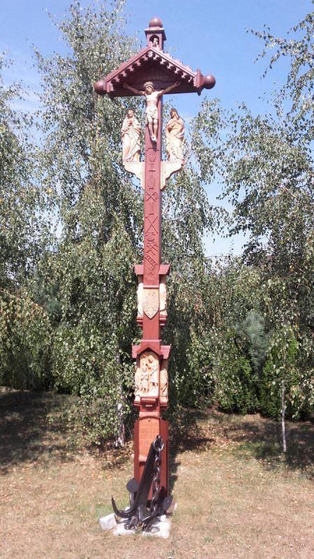 Żabno - Ogród Różańcowy