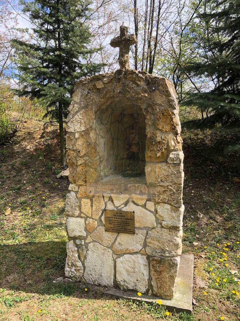 Kapliczka św. Huberta