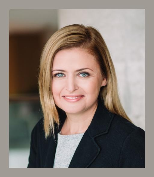 Katarzyna Kucharek Prezes Fundacji Grupy PKP