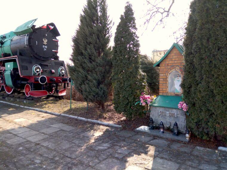 Kapliczka - Dworzec PKP Chełm Gl - Artur Pawlowski
